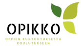 Opikko - Oppien kuntoutuksesta koulutukseen -logo