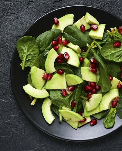 Koristekuva, maukas salaattiannos