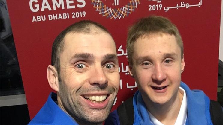 Erwin ja Jaakko Abi Dhabissa