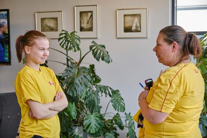 Tina Andersson toimii Annan työpaikkaohjaajana SOL-polussa-1